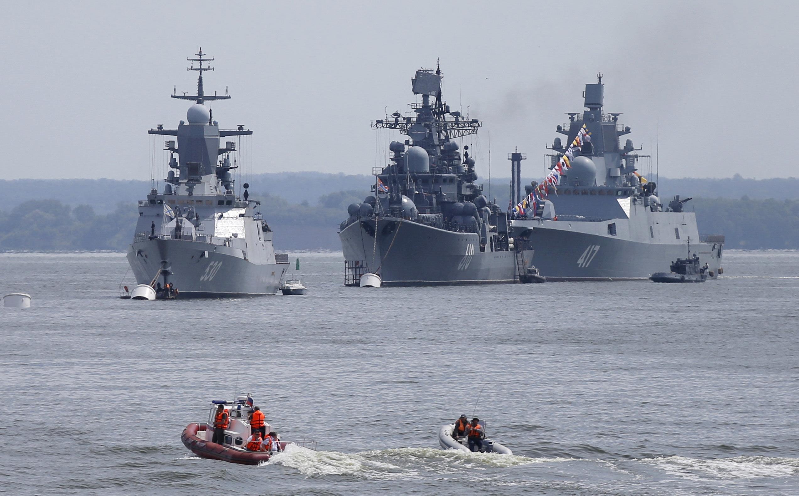Northern Fleet of Russia. Ships of the Northern Fleet 94