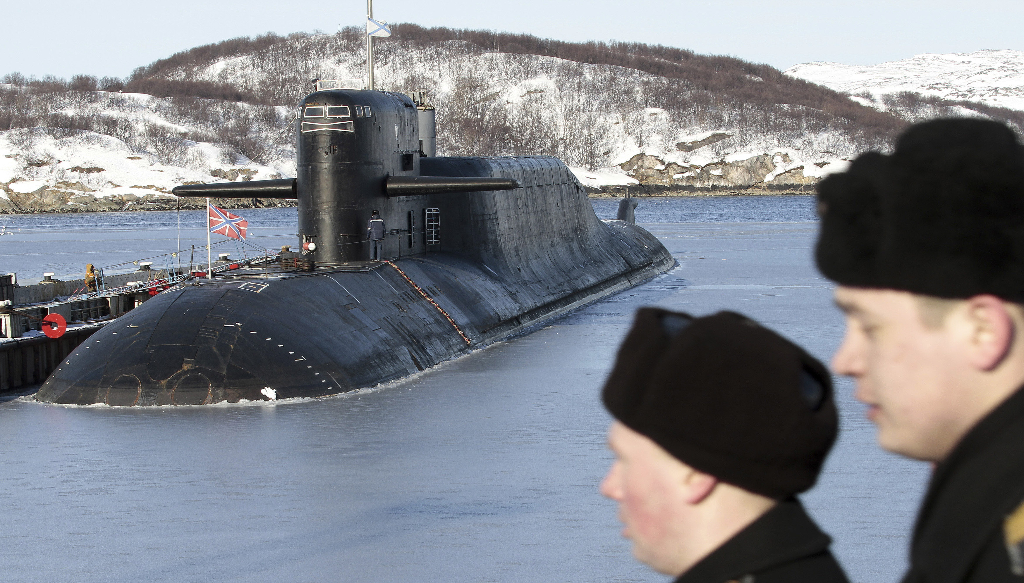 Legal fight over top secret Russian spy sub comes to surface