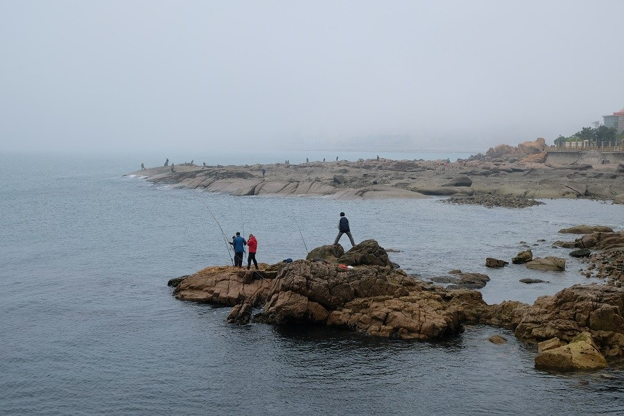 Fishing in Qingdao