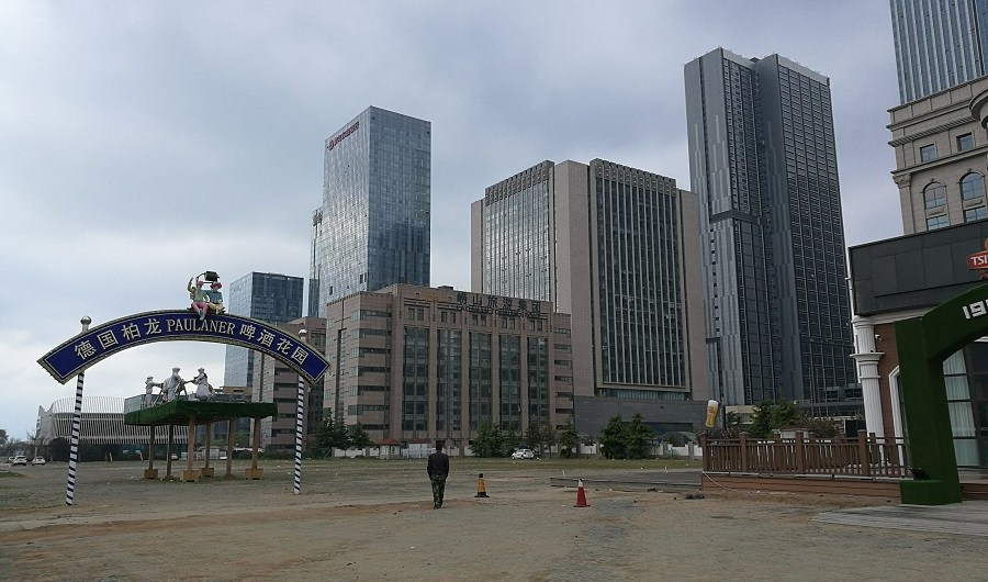A view of Qingdao, China