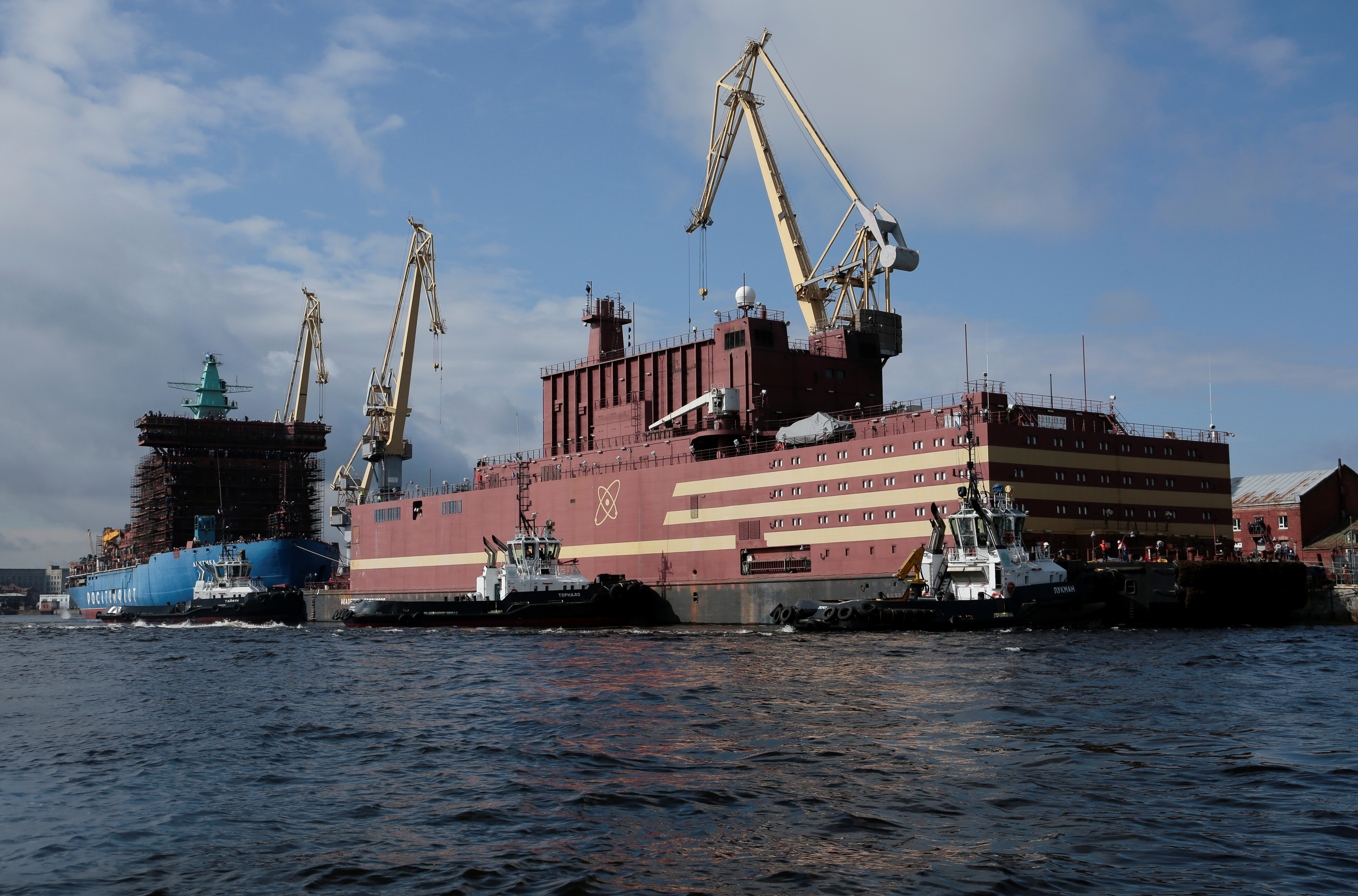 Norway Keeps Eye On Russia S Floating Nuclear Power Plant