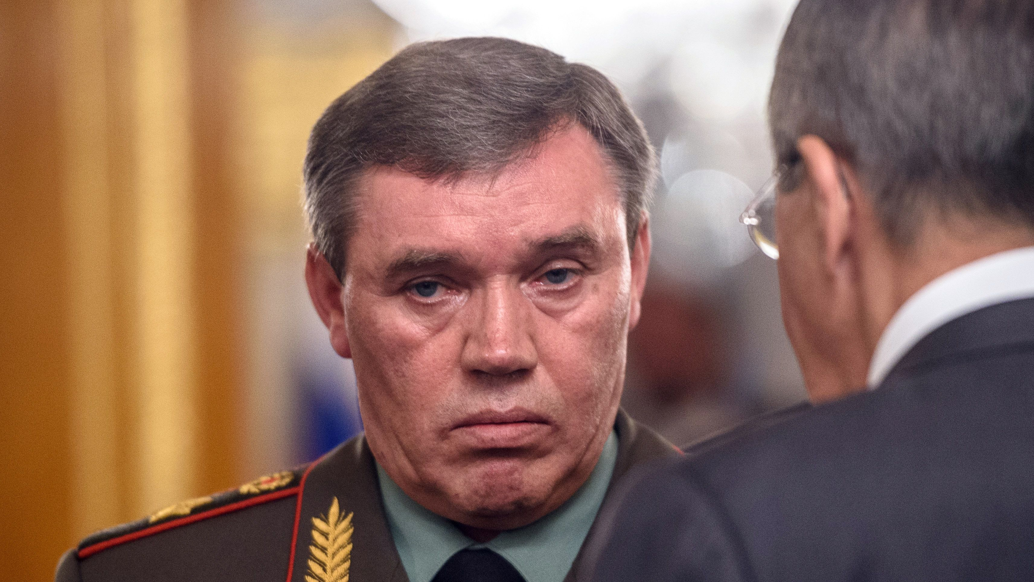 Russian First deputy Defence Minister Valery Gerasimov. (Ozan Kose/AFP/Getty Images)
