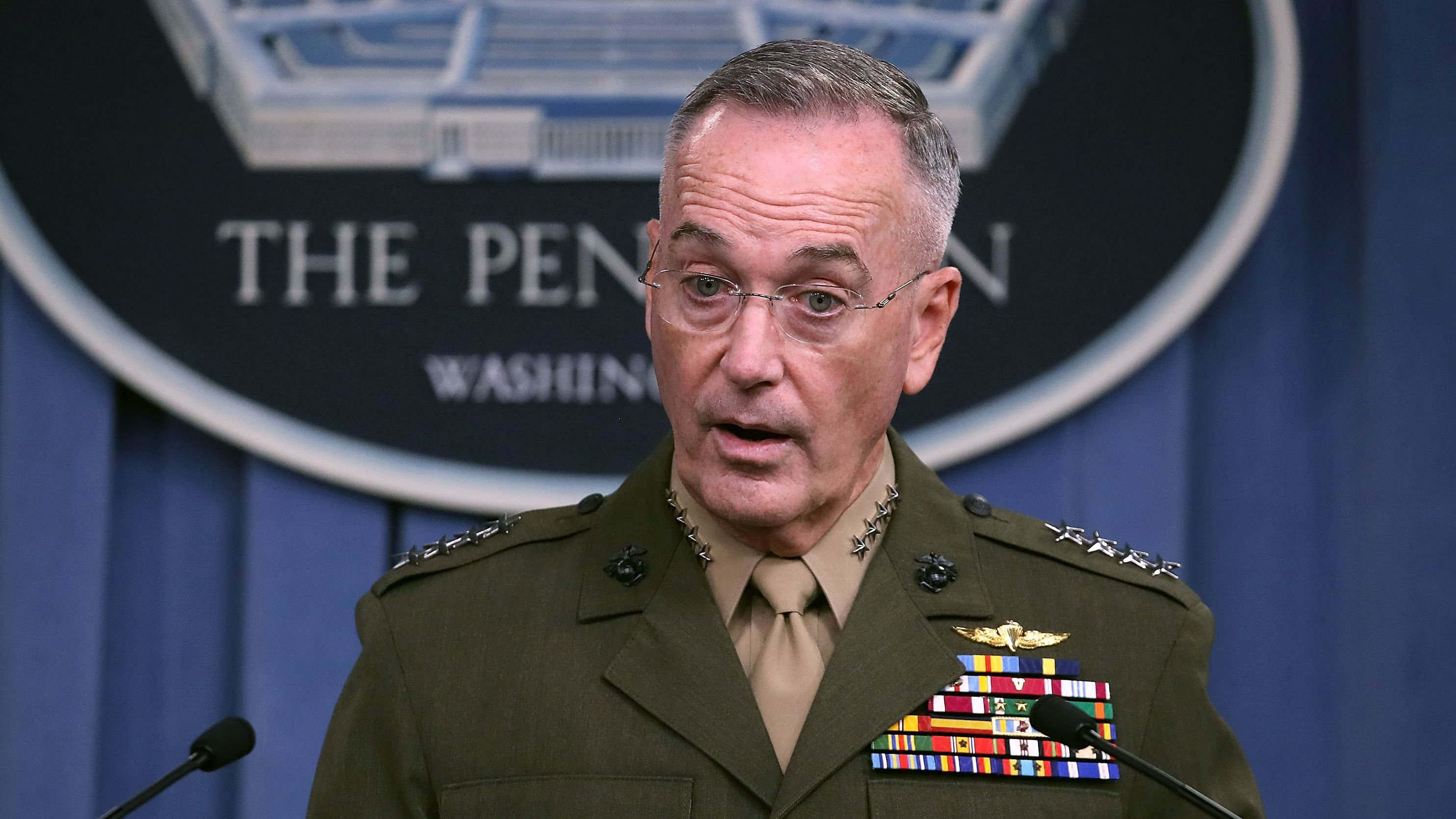 Joseph F. Dunford, Chairman Of The Joint Chiefs Of Staff. (Mark Wilson/Getty Images)