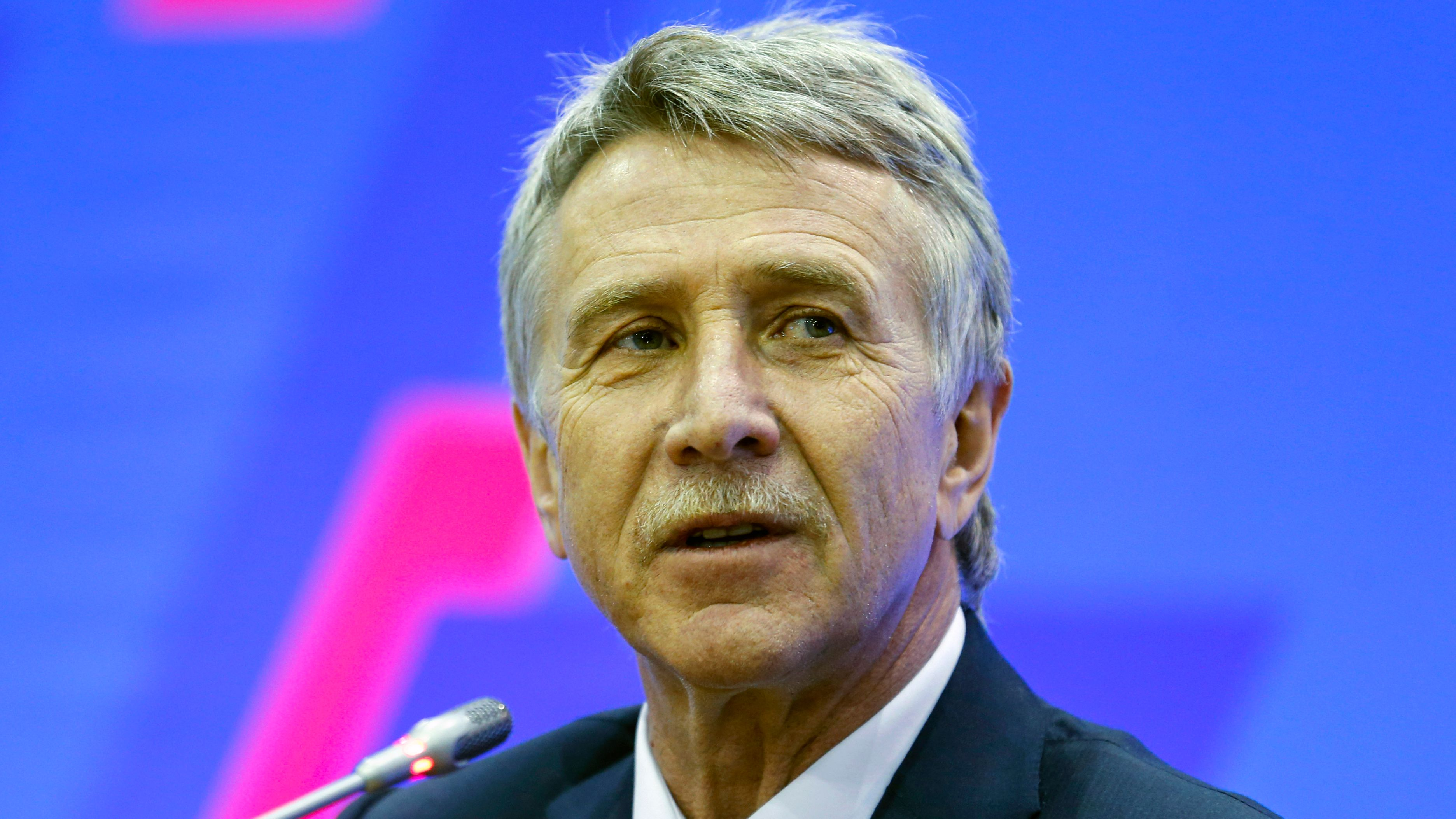Leonid Mikhelson, Russia's 3rd richest person, seen here in 2017. (Maxim Zmeyev/AFP/Getty Images)