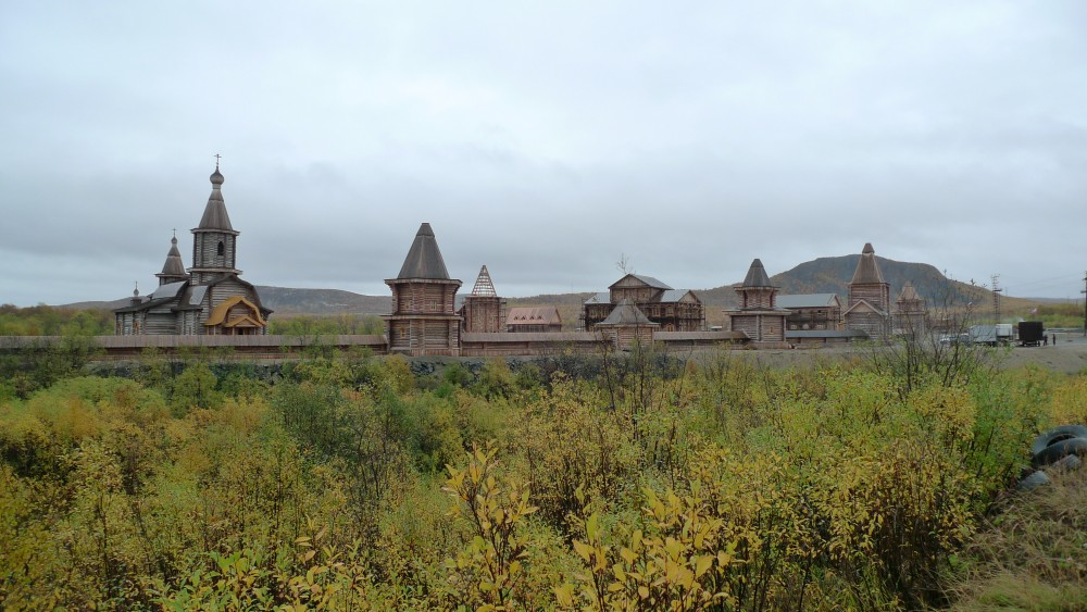 The newly rebuilt monastery in Pechenga.(Thomas Nilsen/The Independent Barents Observer)