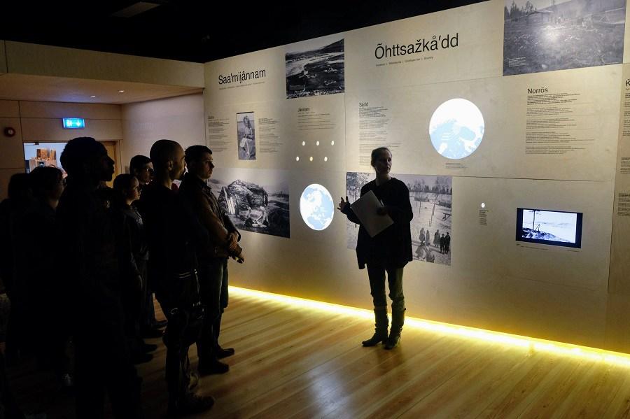 The Skolt Sami Museum in Neiden/Njauddâm, Norway. (Mia Bennett/Cryopolitics)