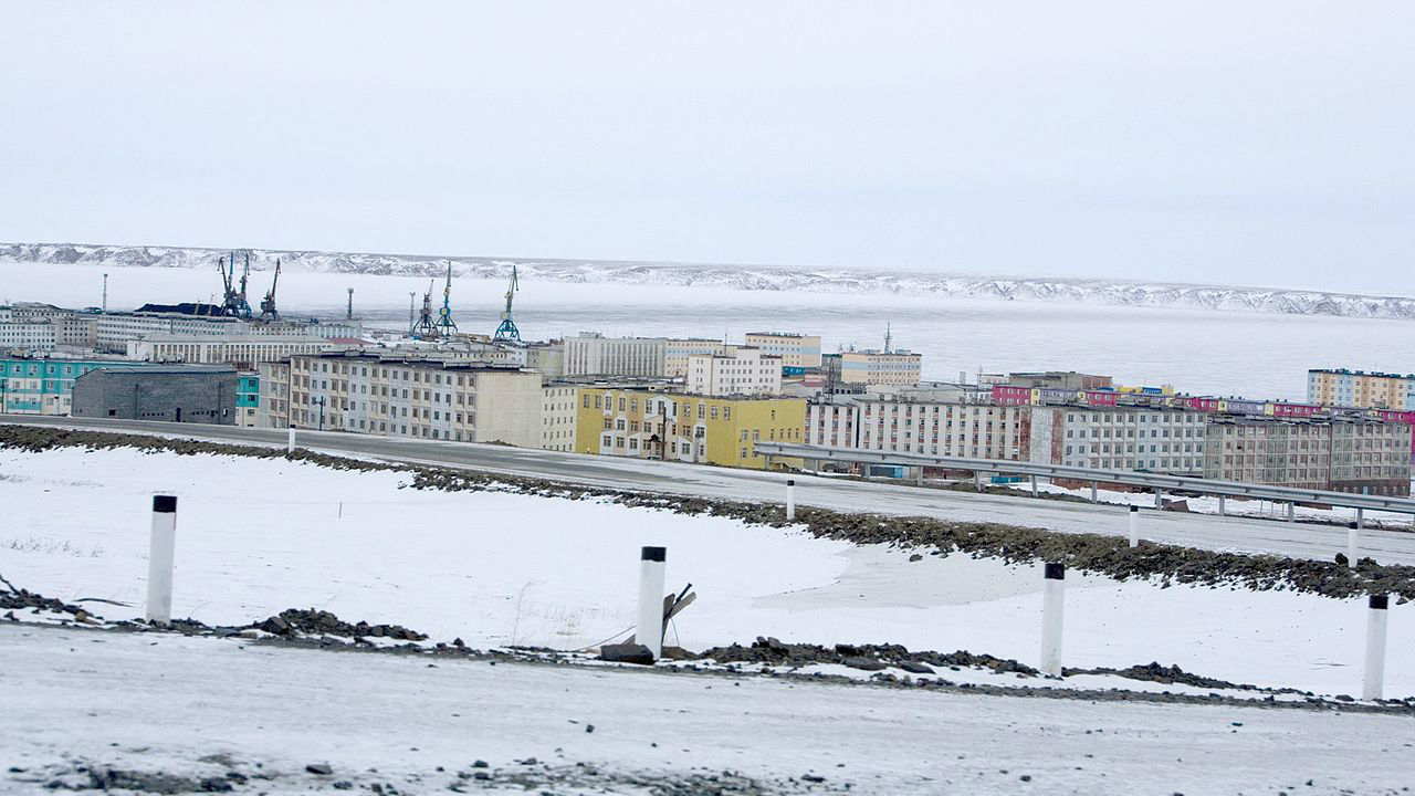 Floating nuclear power plant near destination in Russian eastern Arctic