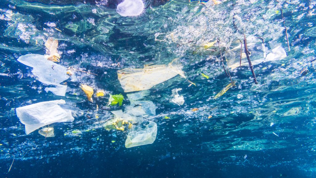(Pictured here, plastic pollution in Thailand.)