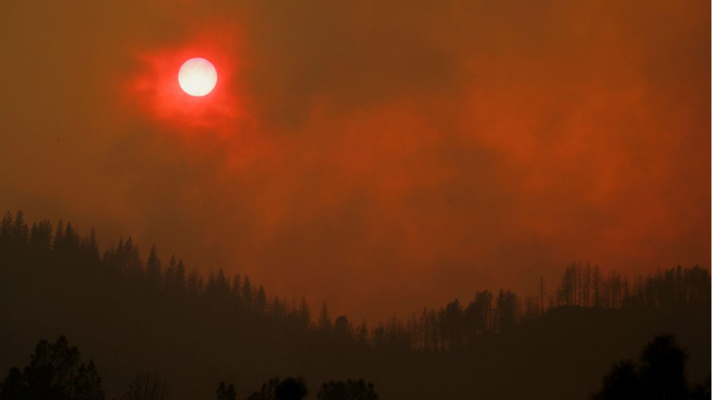 North American Wildfire Smoke Causes Red Sunset In Finland Eye On