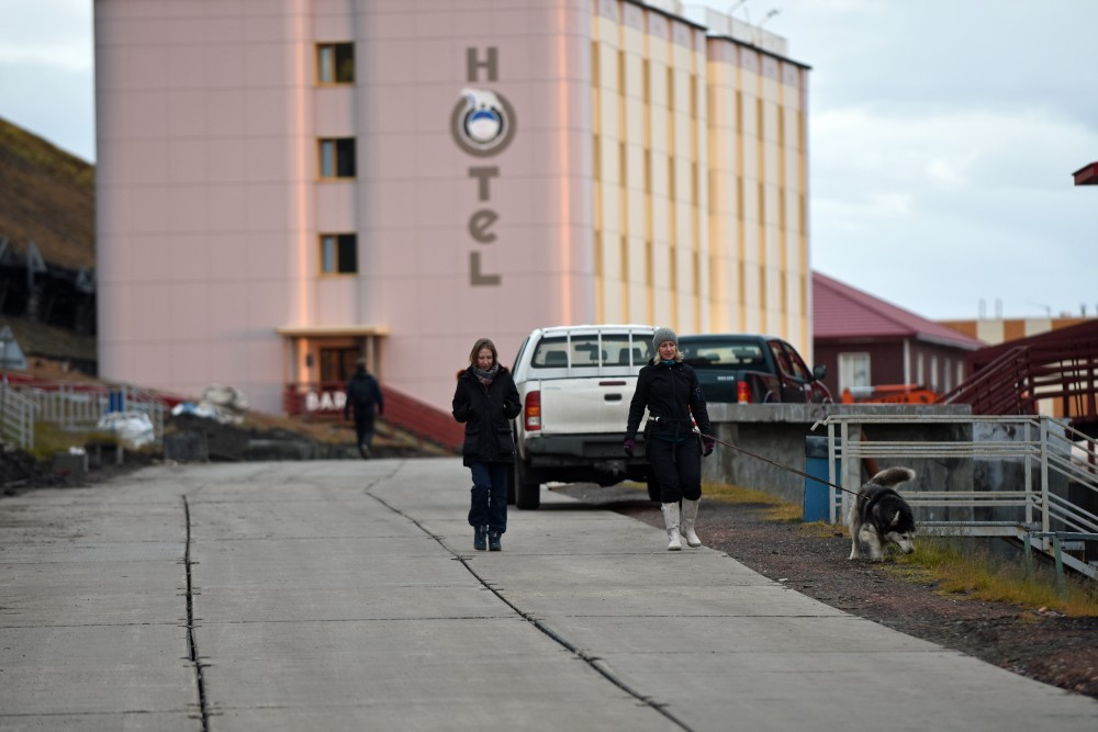 The new hotel in Barentsburg has room for 90 guests. (Thomas Nilsen/The Independent Barents Observer)