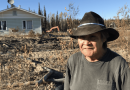 Residents of Lower Post, Northern Canada clean up after wildfires