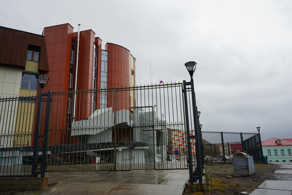 Russia has a rather large Consulate General in Barentsburg. (Thomas Nilsen/The Independent Barents Observer)