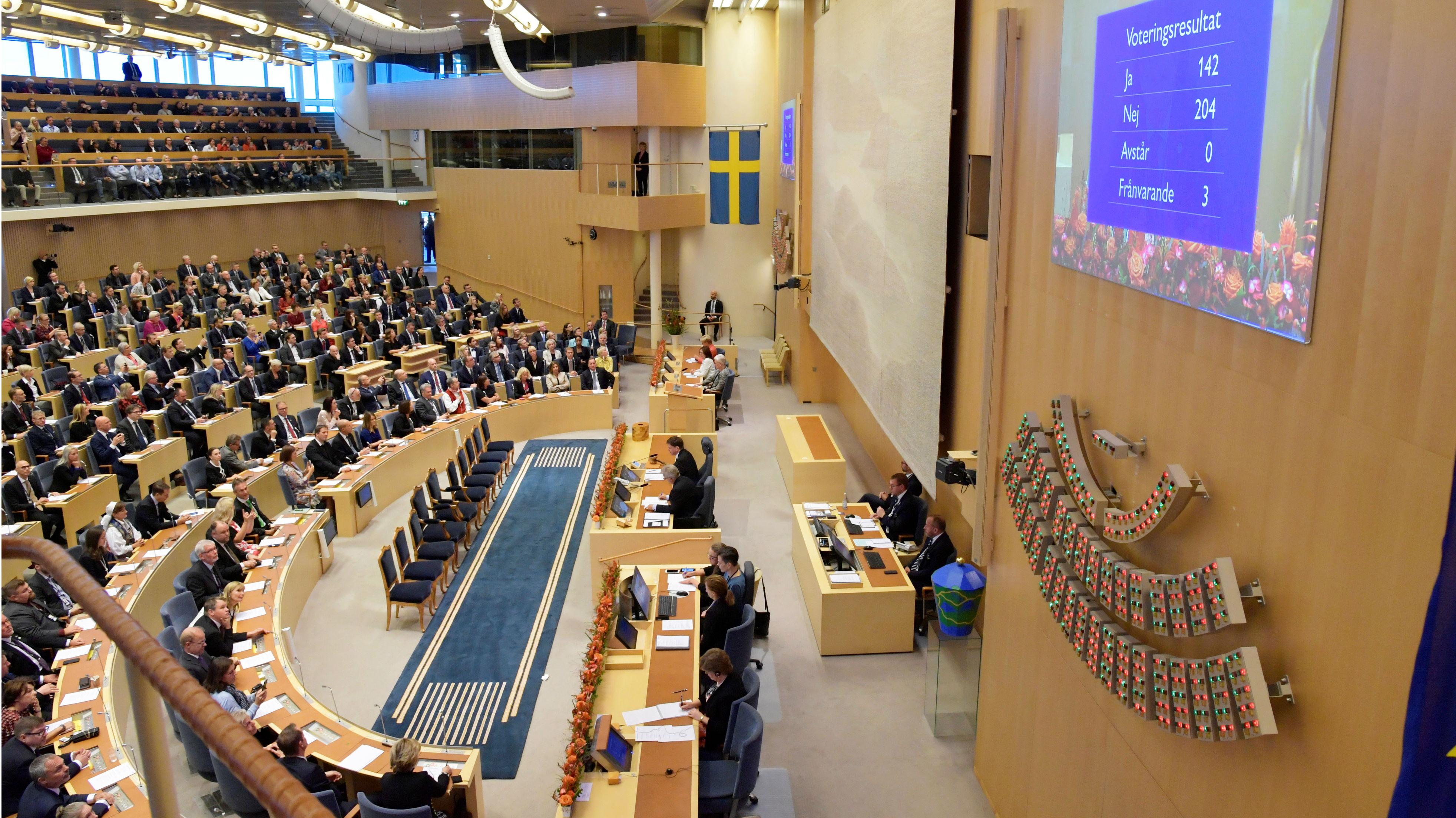 Sweden's speaker begins first round talks to find a prime