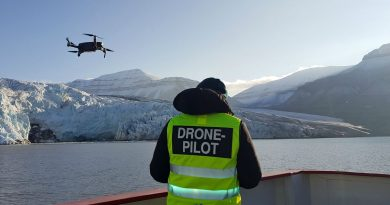 Could drones help prevent polar bear attacks on the Arctic archipelago of Svalbard?