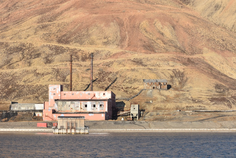 Pyramiden's coal power plant provided both heat and electricity. (Thomas Nilsen/The Independent Barents Observer)