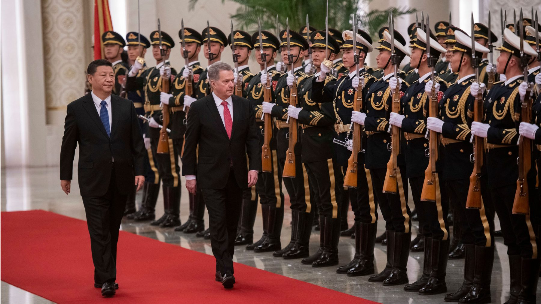 Finnish president makes state visit to China