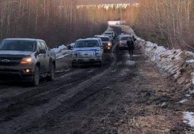 Northern Canada: mild temperatures cause winter road closure in Northwest Territories