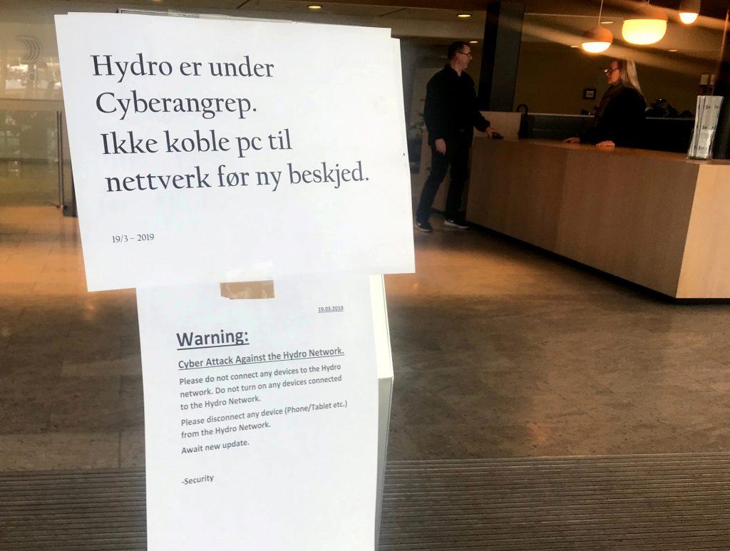 Norwegian aluminium giant Norsk Hydro hit by ransomware