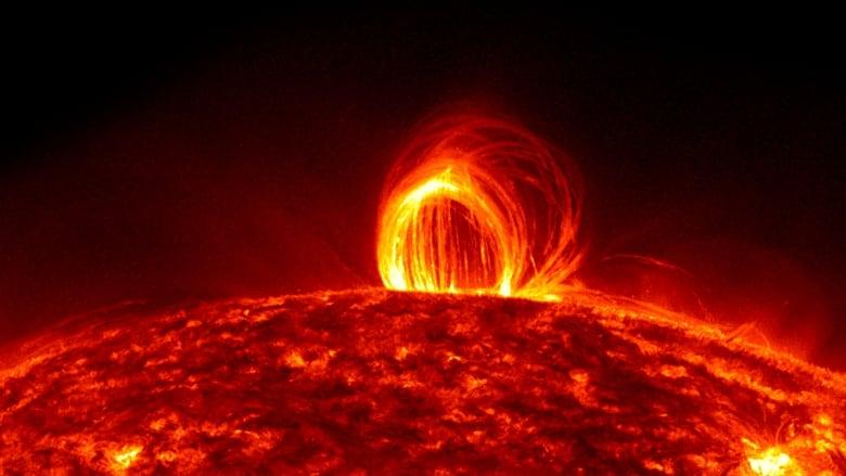solar storm 2600 years ago - photo #1