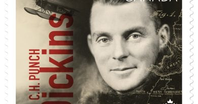 New stamp honours first pilot to land in area of Yellowknife, Northern Canada