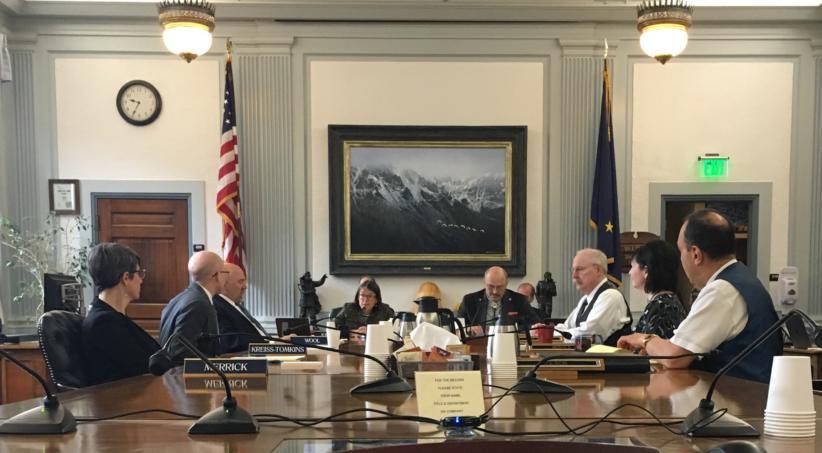 Alaska working groups seeks way forward on permanent fund dividend amid heated debate