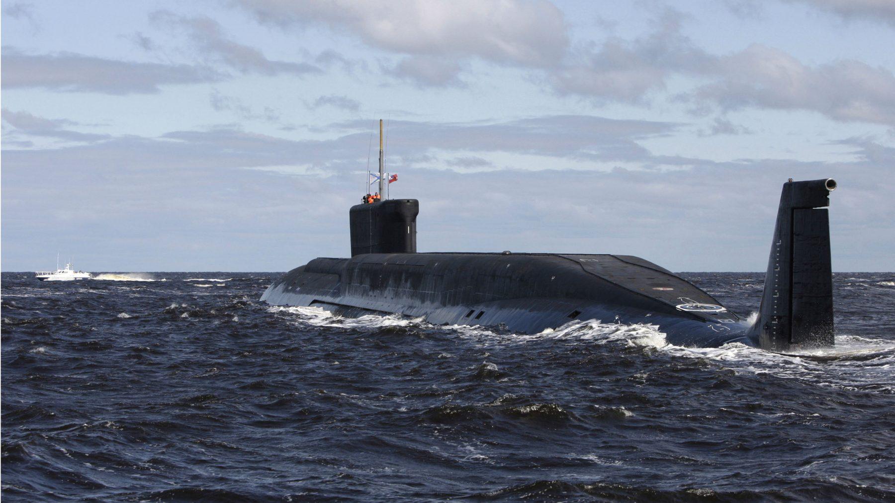 Russian secret submarine