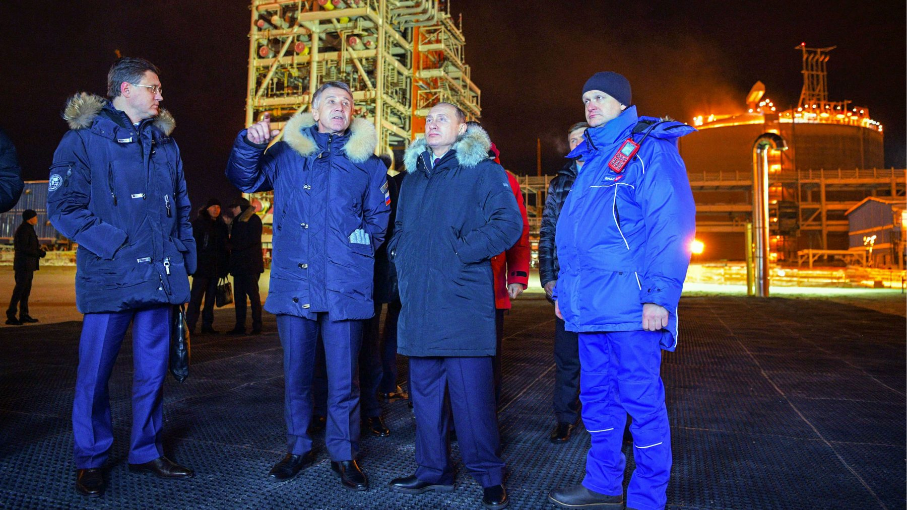 Putin's Arctic shipping goals mobilizing officials, industry