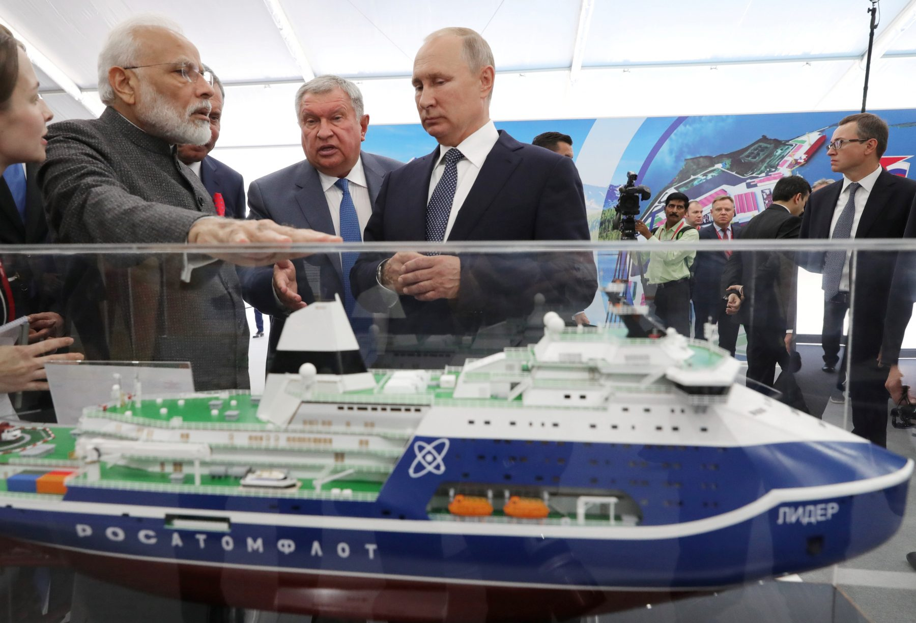 Putin, Modi work on Arctic cooperation during Russia meeting