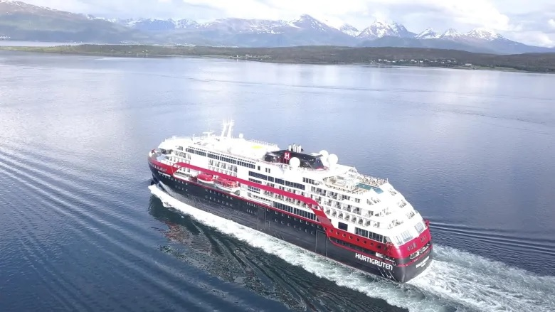 Hybrid-powered electric cruise ship navigates Northwest Passage