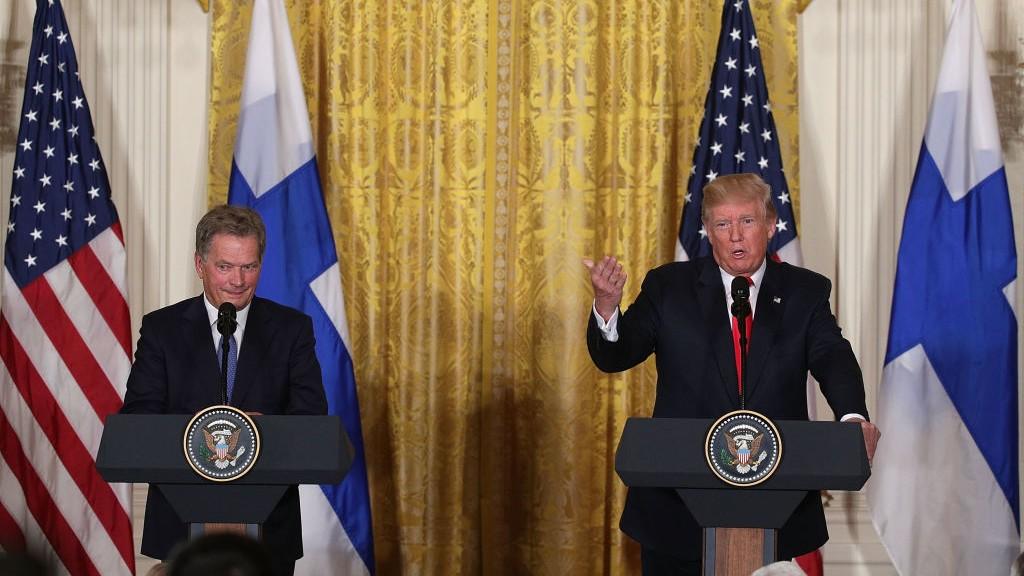 Finnish president Niinistö to meet Donald Trump in Washington next month