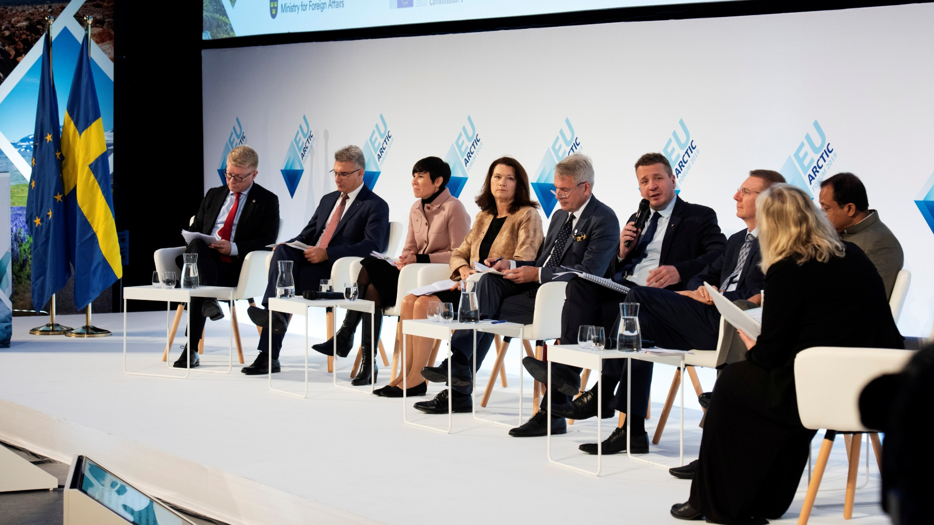 Sweden's FM calls for more EU involvement in Arctic as country hosts EU Arctic Forum