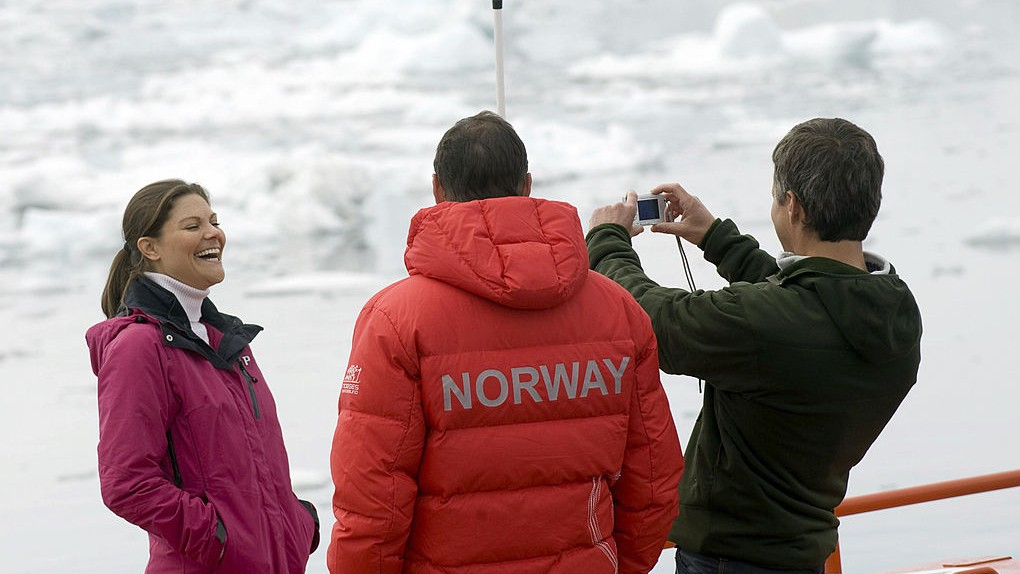 Sweden's Crown princess calls for action during Arctic Circle conference in Iceland