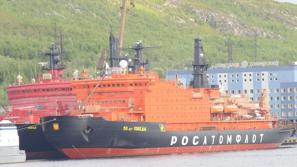 In a last move as PM, Medvedev secured funding to first Lider-class icebreaker