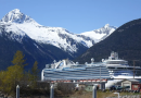 Cruise ship docks in Skagway, Alaska for the first time in 21 months