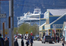 Cruise ship arrives in Skagway, Alaska after passenger flown home with COVID-19