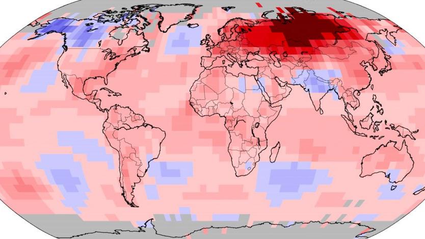 Red alert for northern Siberia as heat shocks threaten tundra life