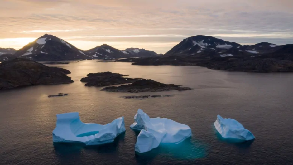 Fresh water is pouring into the Arctic Ocean. Climate change is to blame, new study says
