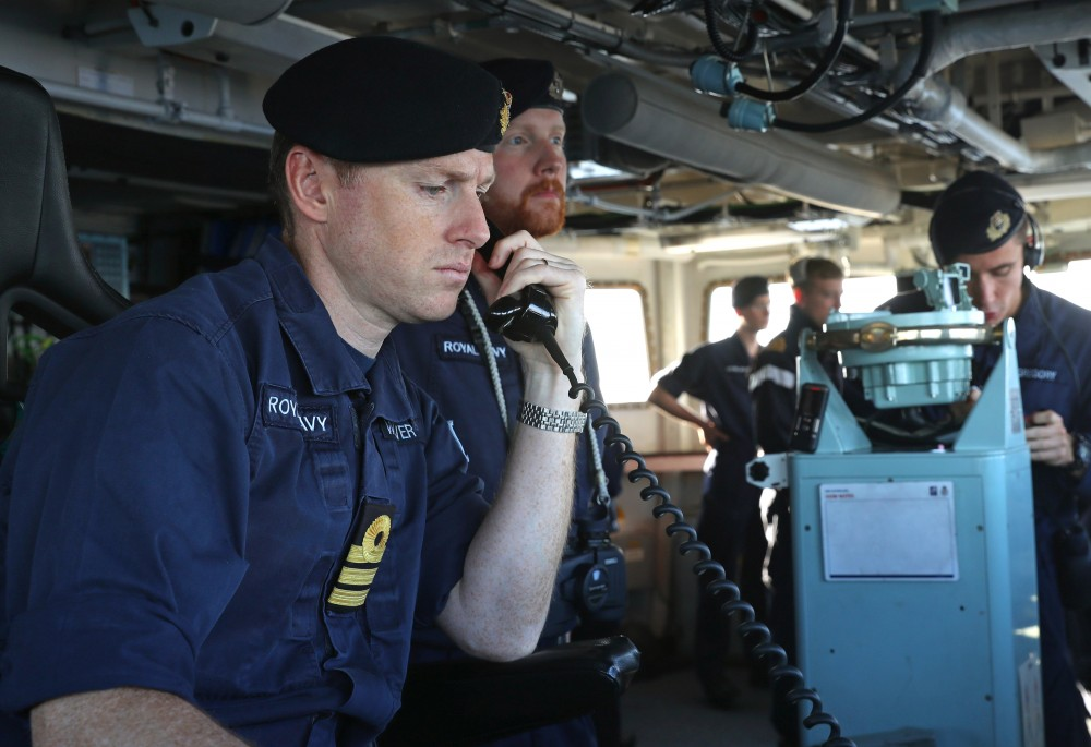 London calling to the faraway north, leads largest NATO task force into the Barents Sea since last Cold War