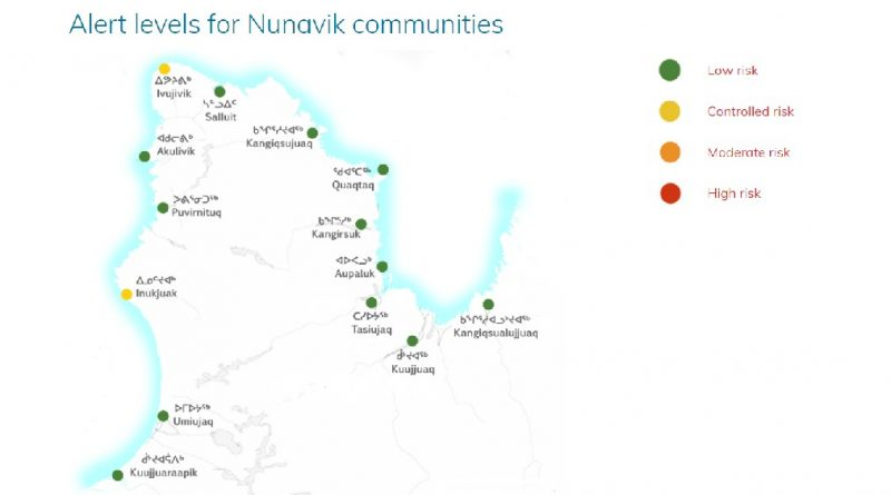 Health board in Inuit region of Arctic Quebec launches interactive COVID-19 map and alert system for Nunavik