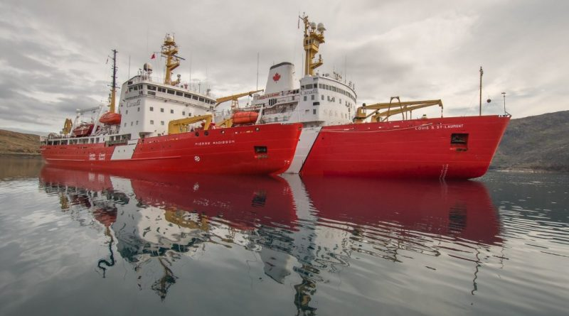Canadian government promises coast guard two new heavy icebreakers for Arctic operations