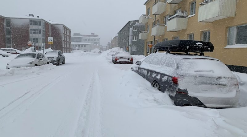 More snow set to blanket northern Sweden Thursday as storm sweeps through