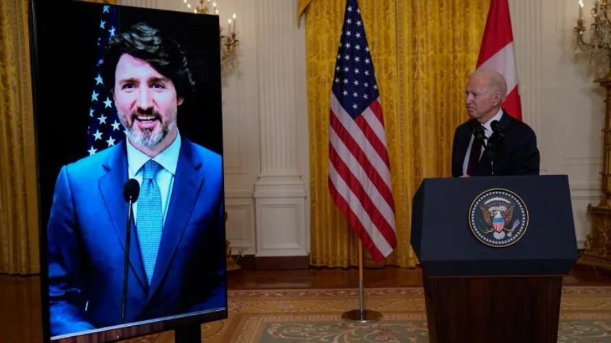 Biden, Trudeau agree to 'safeguard' caribou calving grounds in Alaska refuge