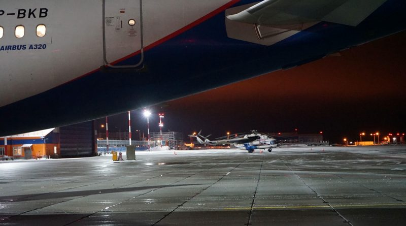 First plane lands in Novatek's new airport in Arctic Russia