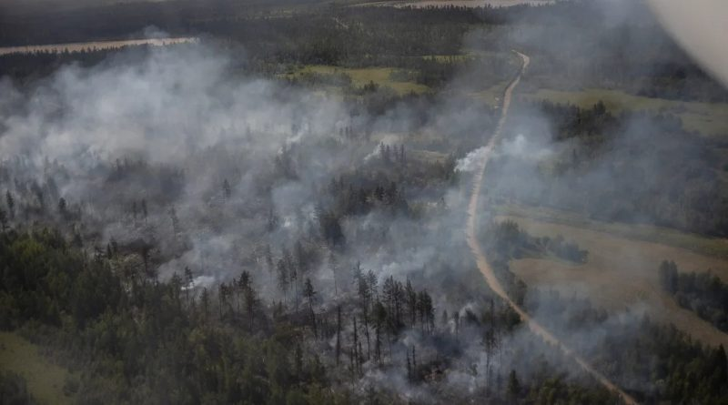 Extreme fire activity continues in Yakutia, Russia
