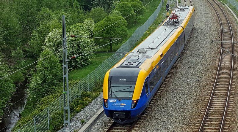 Swedish government greenlights higher-speed railway line north to Luleå