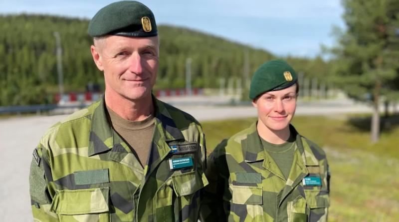 Sweden inaugurates new regiment in sub-Arctic Arvidsjaur