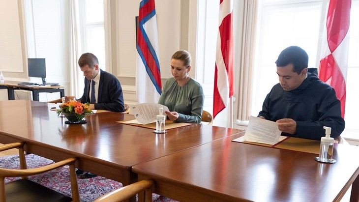 Greenland, Denmark and the Faroe Islands sign terms of reference for committee on foreign affairs and defence