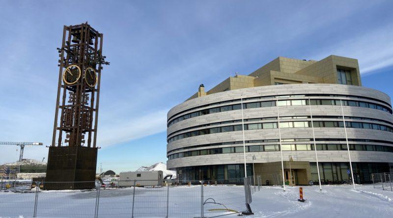 Kiruna's new city center taking shape in Arctic Sweden