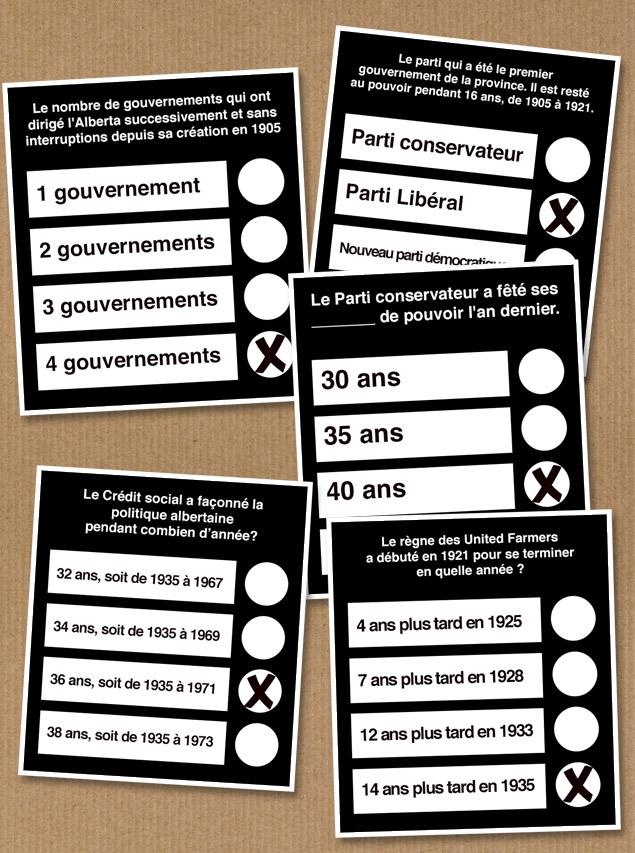 Survol de la démocratie albertaine en 2012 lors des dernières élections provinciales.