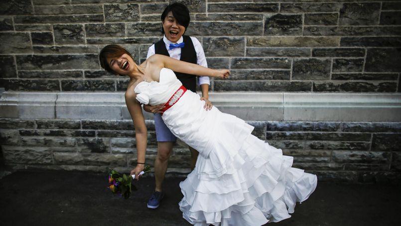 Inae Lee (L) et Jen Chang Ho REUTERS/Mark Blinch